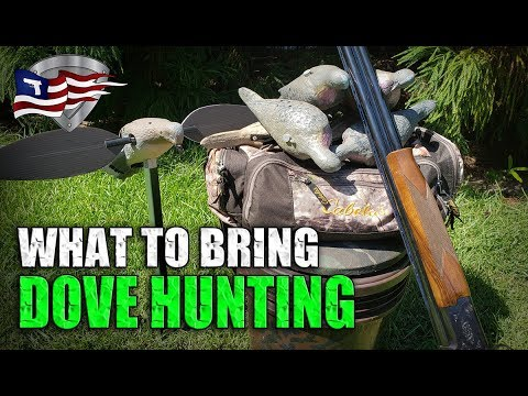 What To Bring Dove Hunting / Top 5 Dove Hunting Gear