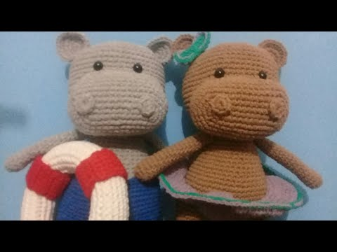 How to crochet an Hippo | World Of Amigurumi - YouTube | 360x480