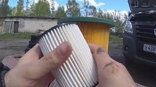Газель замена топливного фильтра Сummins 2.8