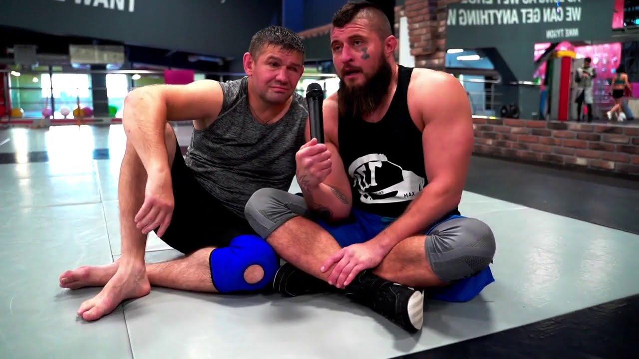 Открытая тренировка по единоборствам с Максом Топором, Ярославом Рымыгой и Михаилом Грудевым.