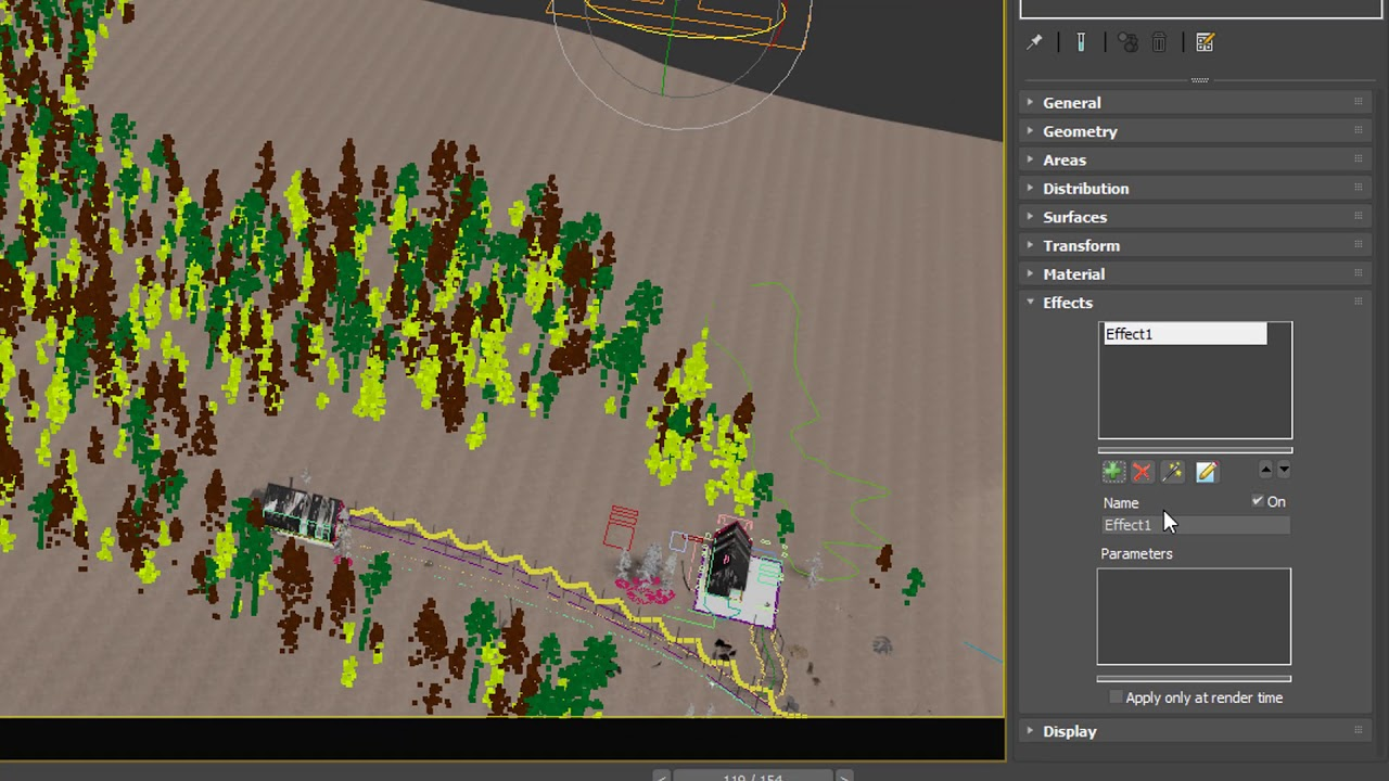 FOREST PACK 6: New Effects Features