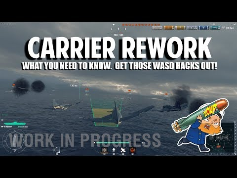World of Warships Carrier Rework and What You Need to Know