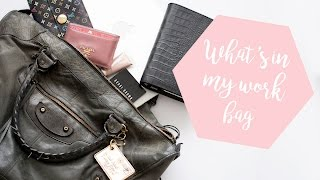 What's In My Work Bag | Balenciaga Work Bag  | Style Playground