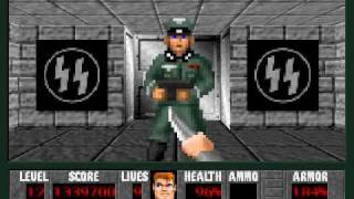 PC - Wolfenstein 3D (Castle Totenkopf SDL) - Level 12