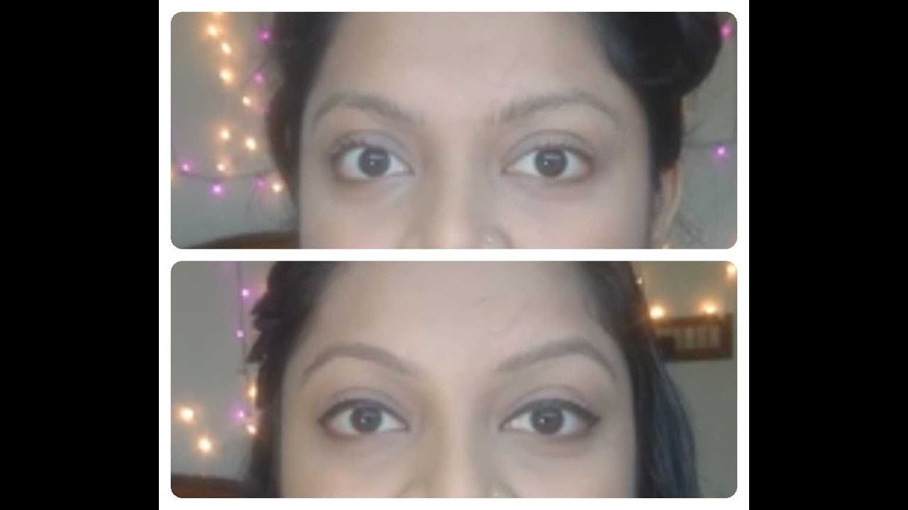 Do Eyebrow Threading At Home By Yourselfmoreglamours Youtube