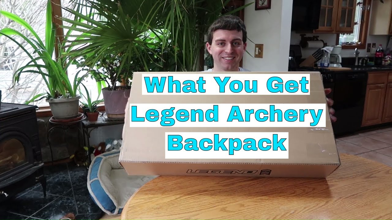 d76e28bbc5 What You Get Legend Archery Backpack (Artemis) - YouTube