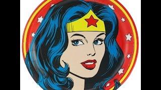 Wonderwoman Lichtenstein drawing A3