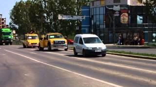 VIDEO Alba24.ro; Protest al transportatorilor in Alba Iulia