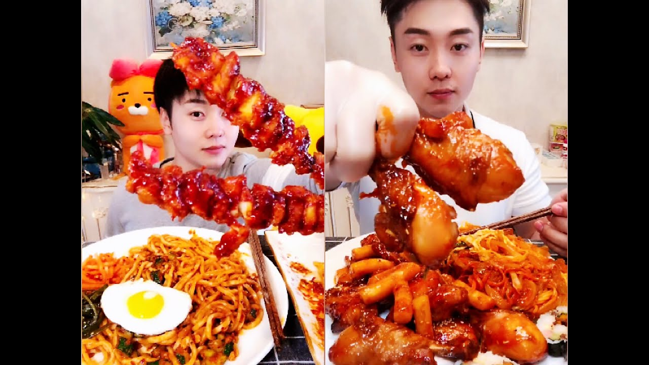 MUKBANG 丨Chinese big stomach challenge, eat food collection - ASMR Chinese food Eating Show