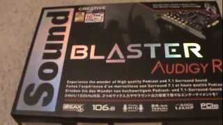 Project Floater576: Creative Sound Blaster Rx Sound Card Unboxing