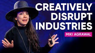How To Build $100 Million Dollar Brands And Creatively Disrupt Industries | Miki Agrawal