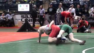 ohio junior high school state wrestling tournament 2012   114 pounds   finals