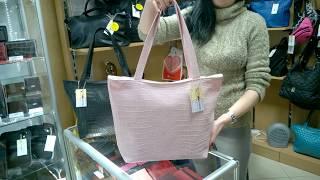 "Обзор сумки ""Boat"" 05, розовая, макан - Мир Сумок"