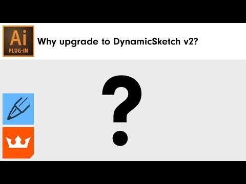 Why upgrade to DynamicSketch v2 for Adobe Illustrator
