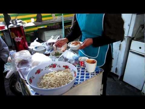[Kyrgyzstan] Ashlanfu Dungan noodle | Ашлям фу | 아샬란푸 국수 @ Karakol | 카라콜