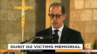 Special mass held in Nairobi for Dusit d2 victim's memorial