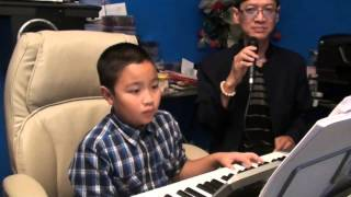 NS Duy Thành 8 ~ Bé Duy Cường 9 Tuổi Đệm Nhạc Ngô Thụy Miên