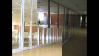 Оформление офиса крупной строительной компании(Офисные перегородки Алюминиевые конструкции Цена от 600 грн./м.кв. Проектирование пространства за 10 дней..., 2015-12-10T10:42:32.000Z)