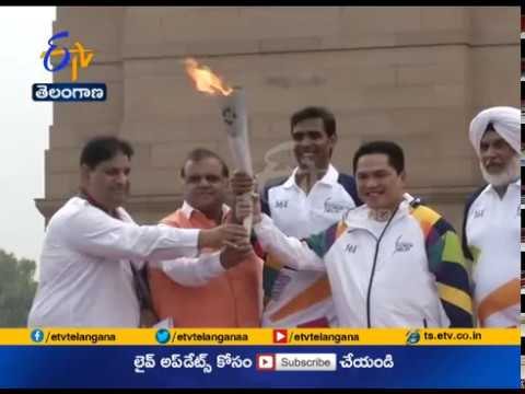 Asian Games 2018 Torch Relay Begins | Its Journey From New Delhi