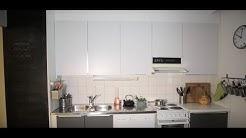 Keittiökaappien maalaus