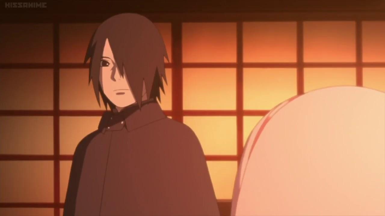Sasuke Talks To Sakura Boruto Episode 95