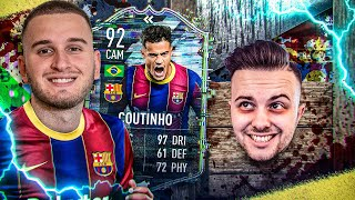 🚑🚑 FIFA 21: COUTINHO FLASHBACK SQUAD BUILDER BATTLE vs GAMERBROTHER 🔥🔥