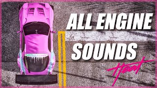 Need For Speed Heat All Engine Sounds | Every Single Car Gameplay! Good Sounding Cars [4K]