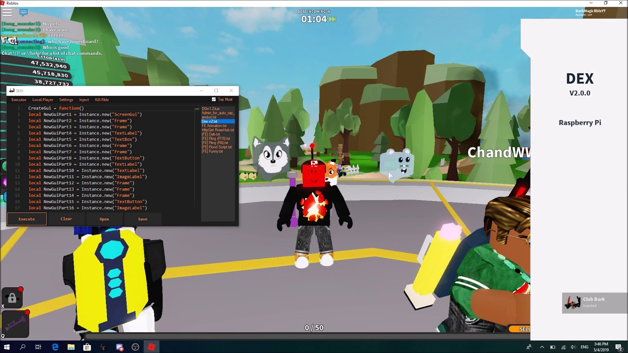 Roblox Exploit Sk8r | How to get key and inject sk8r and Ghost simulator  free gamepass exploits