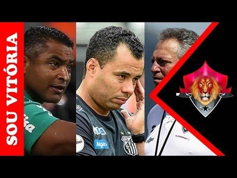 Presidente revela negativa de três nomes de peso para o cargo de treinador do Vitória