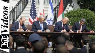 New Era: UAE, Israel, US And Bahrain Sign Abraham Accord