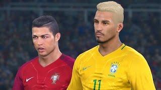 pes 2017 rumo ao estrelato 19 cristiano ronaldo na copa do mundo gameplay ps4 xone