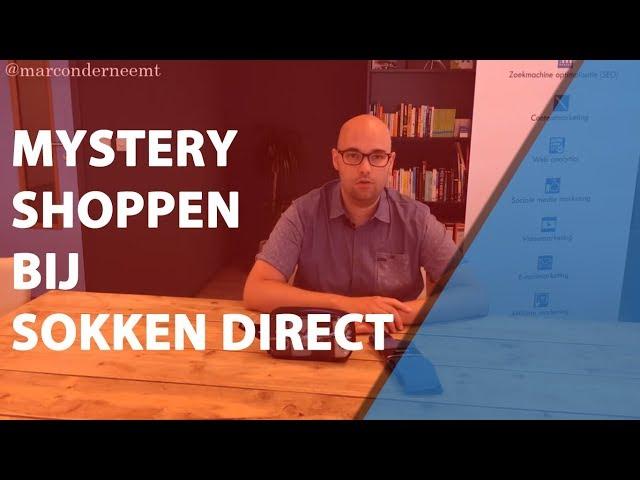 Mystery Shopping bij Sokken Direct