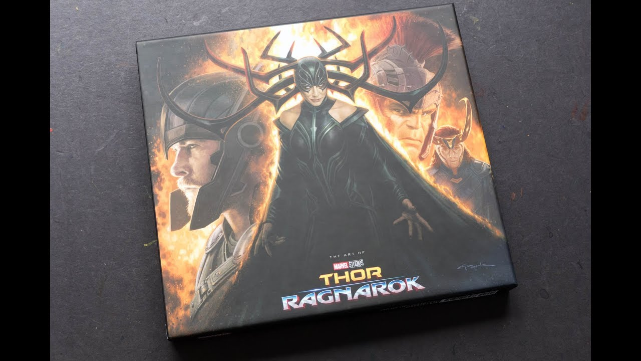 marvels thor ragnarok the art of the movie