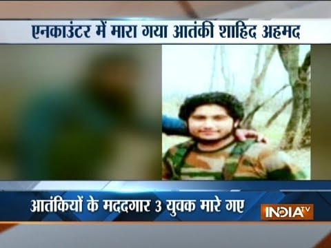 LeT militant, 3 others killed in Jammu and Kashmir's Shopian