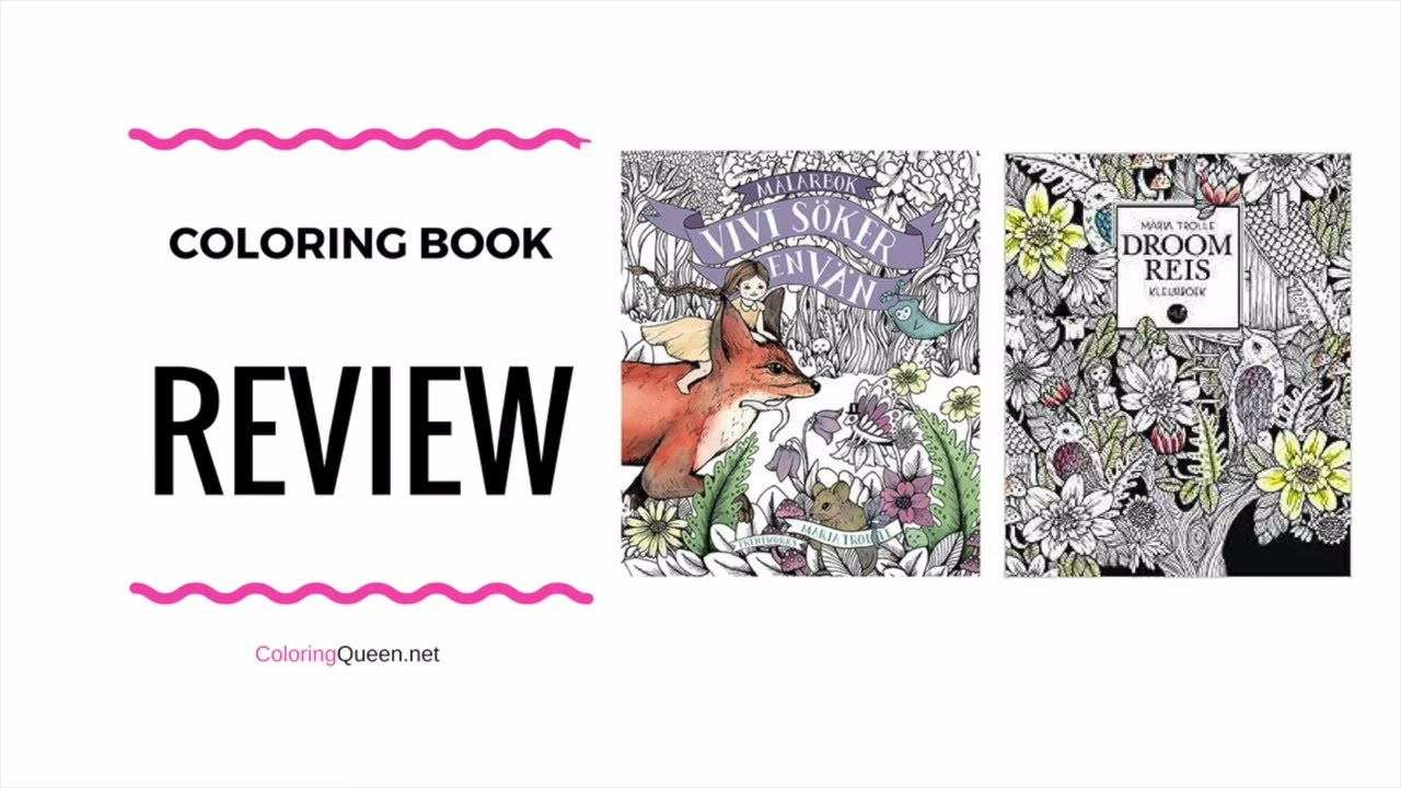 Droomreis Coloring Book Review With Comparison To Vivi Soker En Van