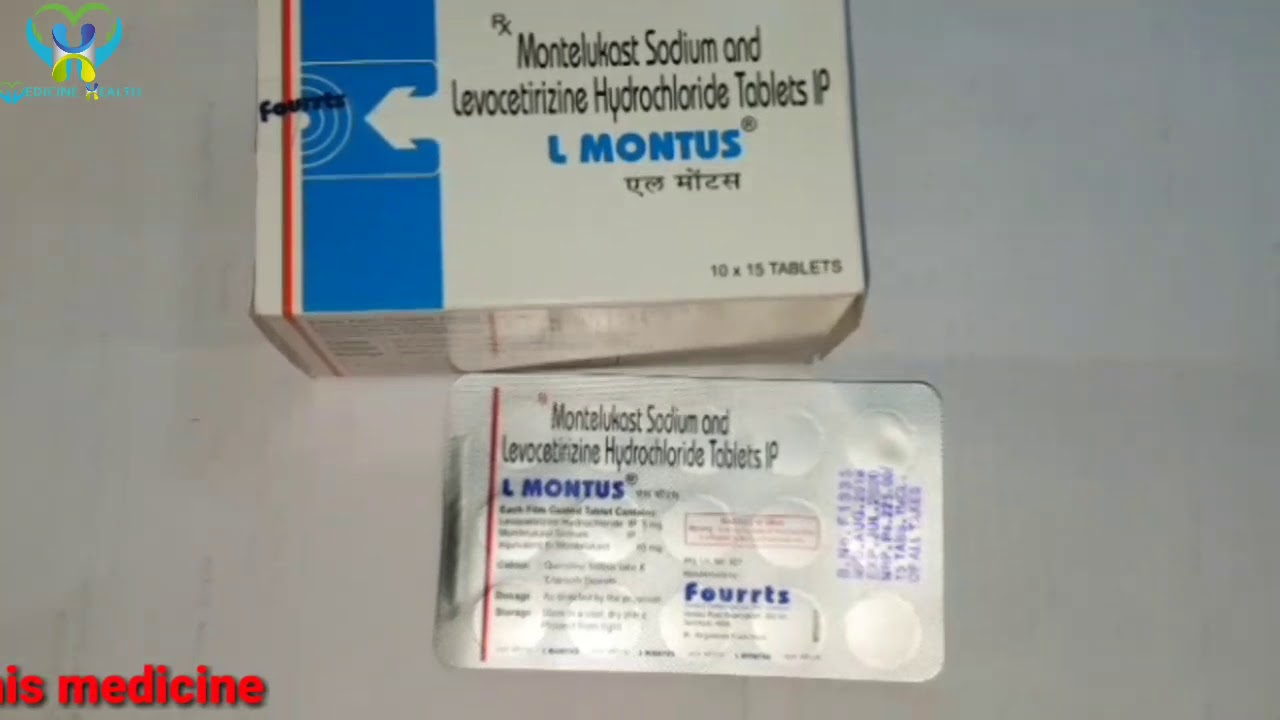 L montus tablet in tamil ,allergic tablet in tamil, best tablet for  rhinitis,in tamil language - YouTube
