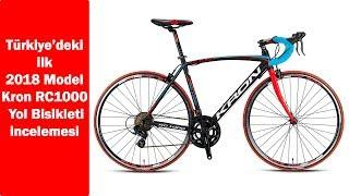 Türkiye'deki ilk 2018 Kron RC1000 Yol Bisikleti incelemesi