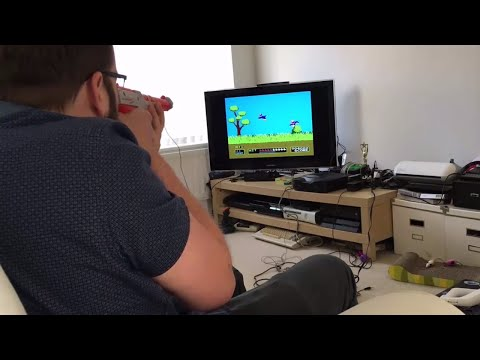 Light Gun Games on a Modern LCD TV - Light Gun Games Review