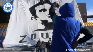 "08.02.2015 - Ultra Hercules ( IRT 1-0 RAC ) - PART 1 - TIFO ""لن ننساكم"""