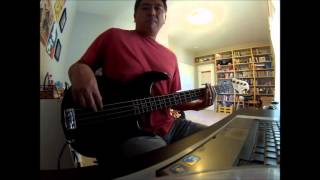 """Good Good Father"" (Housefires II) Bass Cover with ON SCREEN NOTES!!!!"