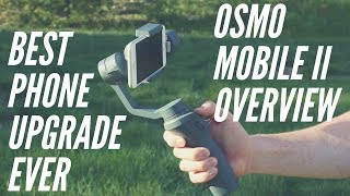 DJI Osmo Mobile 2 Handheld Stabilizer / Gimbal Tech Review
