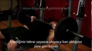Barbell Bench Press Medium Grip - Türkçe Altyazılı