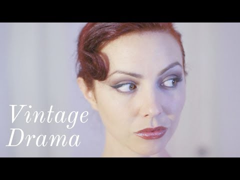 Refresh your Work Makeup for Nighttime Vintage Glamour