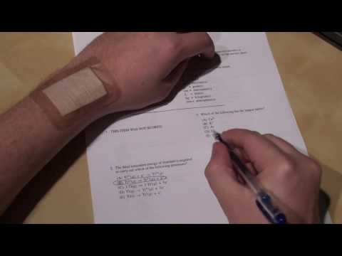 How to cheat on any test #4 (Band-aids)