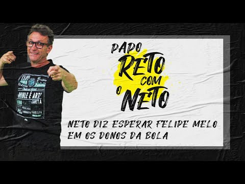 Neto convida Felipe Melo para participar de seus programas na TV