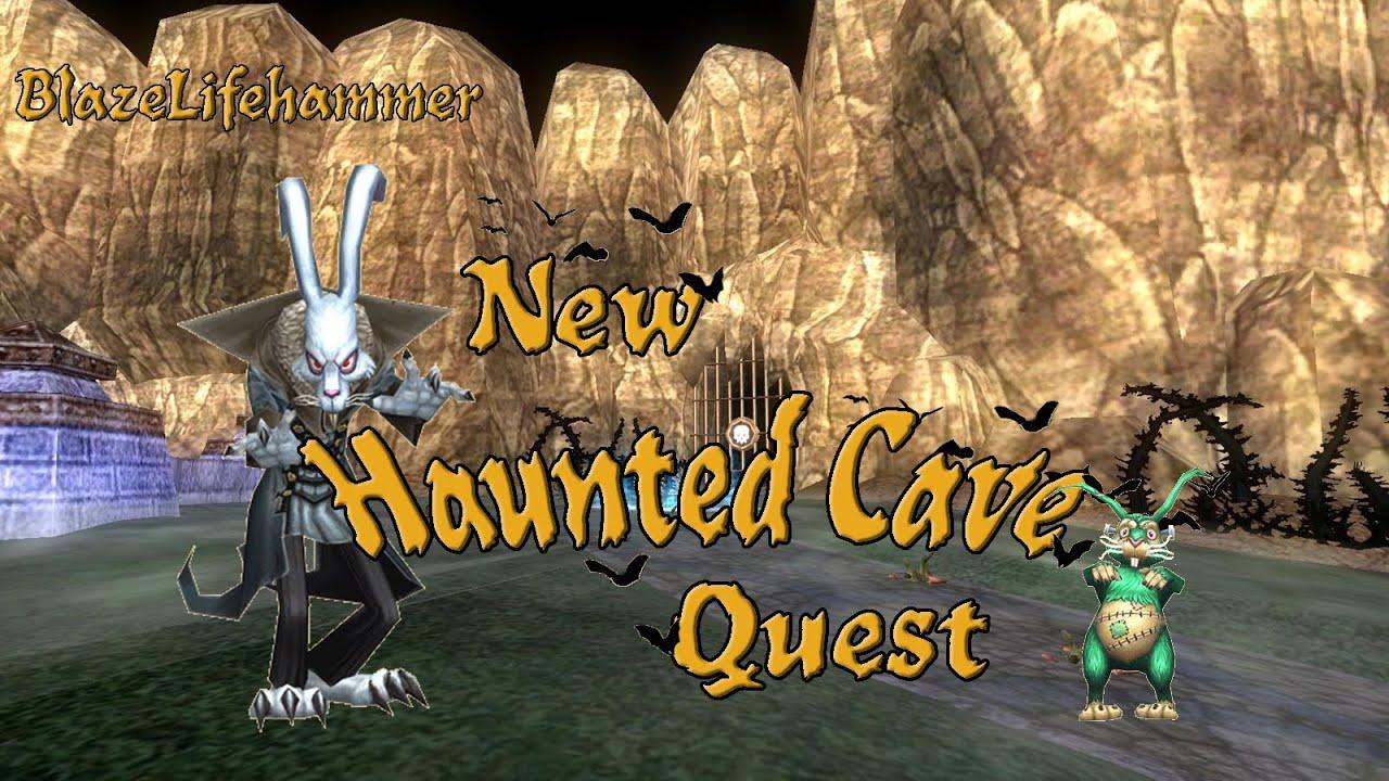 Wizard101: Haunted Cave Quest - Nosferabbit Boss!