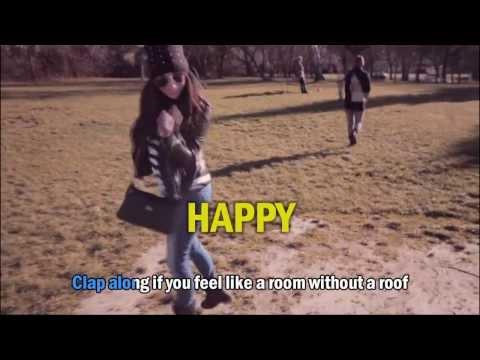 We are from Sopron (Pharrell Williams - Happy) HD KARAOKE