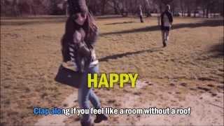 We are from Sopron Pharrell Williams Happy HD KARAOKE
