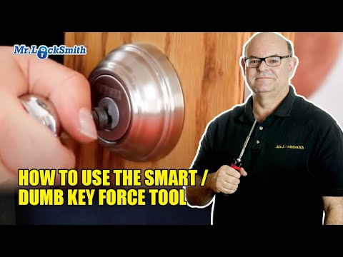 How to use the Smart / Dumb Key Force Tool | Mr. Locksmith Video