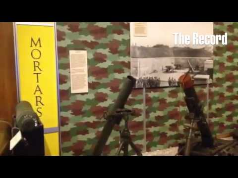 Tour of the Arsenal museum in Watervliet